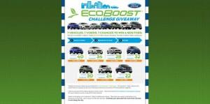 Ford EcoBoost Challenge Giveaway (FordEventGiveaway.com)
