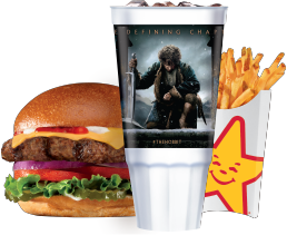 Carl's Jr Hobbit Sweepstakes Code Cup