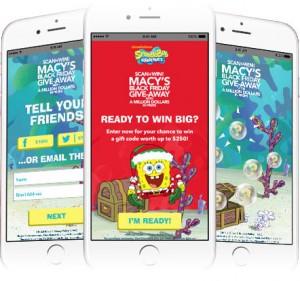 Macy's Black Friday Million App Screen