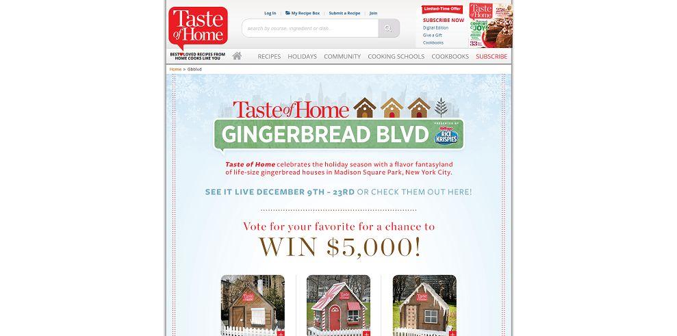 Taste Of Home Gingerbread BLVD Giveaway
