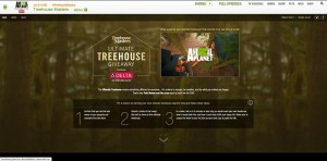 Treehouse Masters Ultimate Treehouse Giveaway (AnimalPlanet.com/UltimateTreehouse)