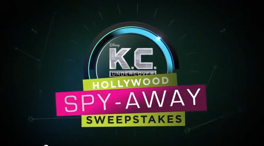 Disney Channel K C Undercover Hollywood Spy Away Sweepstakes