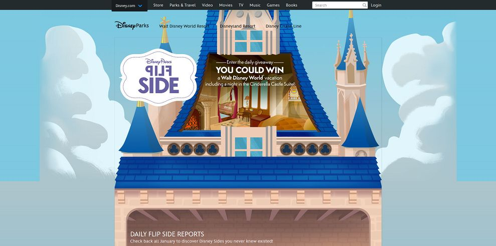 Disney Flip Side Sweepstakes (DisneyFlipSide.com)