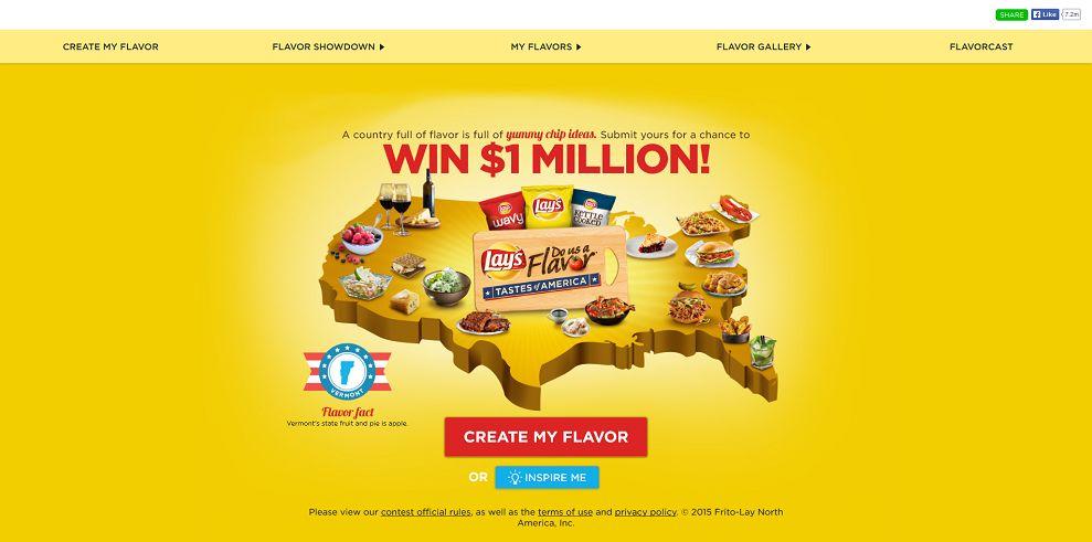 dousaflavor.com - LAY'S Do Us A Flavor