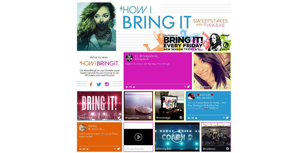 #HowIBringIt Sweepstakes With Tinashe - howibringitsweeps.com