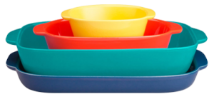 CW by CorningWare set