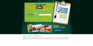 FoodLion.com/PickYourPlay - Food Lion's Pick Your Play Instant Win Game
