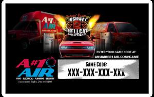 Richard Rawlings Highway 2 Hellcat Sweepstakes game code
