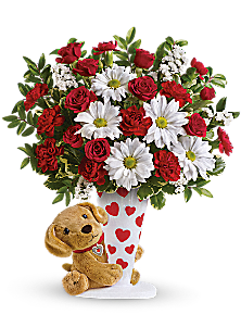 Send a Hug I Ruff You by Teleflora