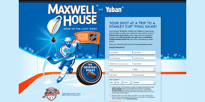 Ultimate Hockey Fan Sweepstakes