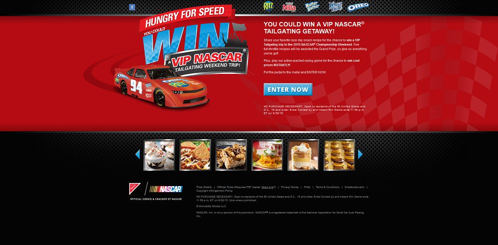 Hungry For Speed - NabiscoHungryForSpeed.com