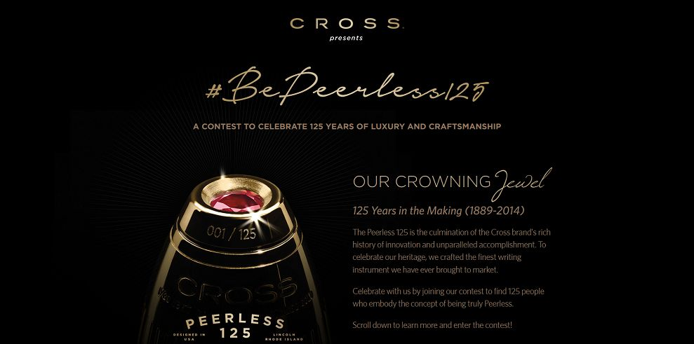 The Peerless 125 Contest