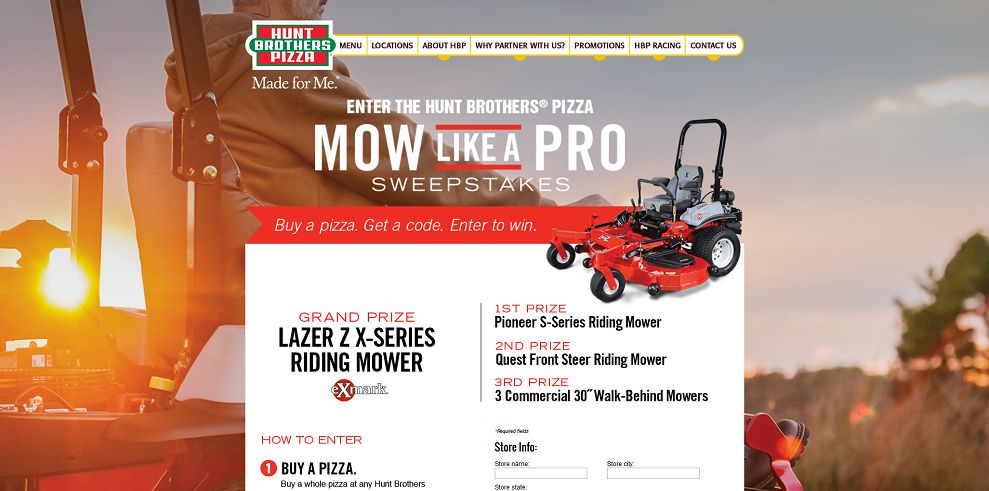 Mow Like A Pro Sweepstakes
