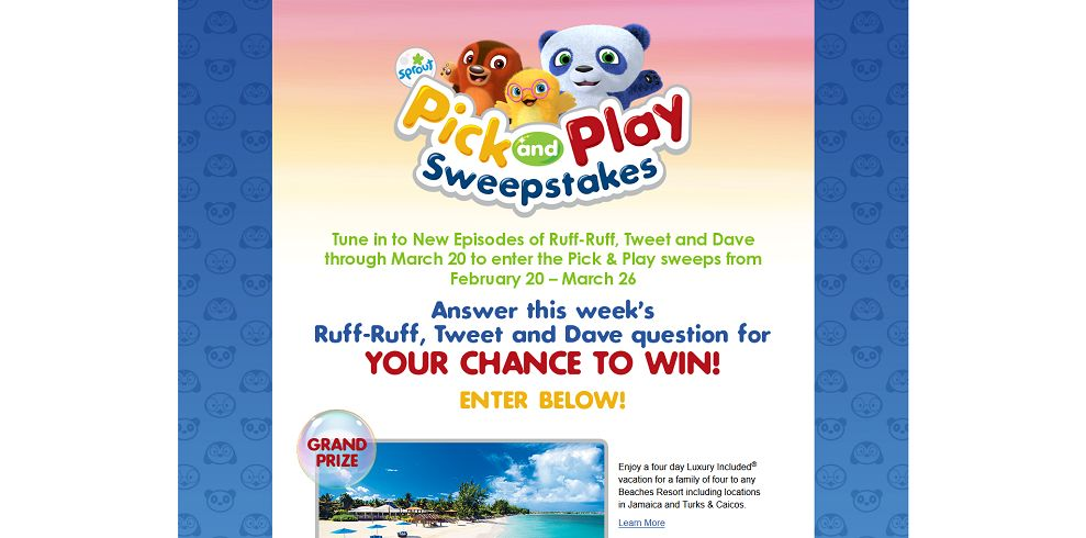 Pick & Play Sweepstakes At PickAndPlaySweeps.com