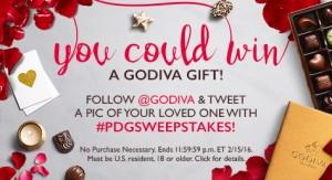 Godiva Valentine's Day Sweepstakes