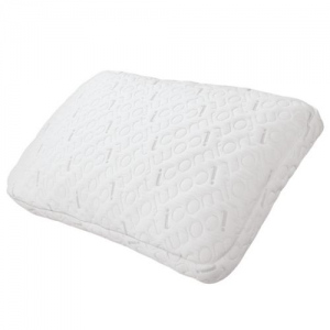 Serta Queen Gel Memory Foam 2 n 1 Scrunch Pillow