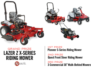 mow like a pro sweepstakes prizes