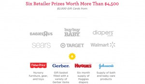 retailer prizes