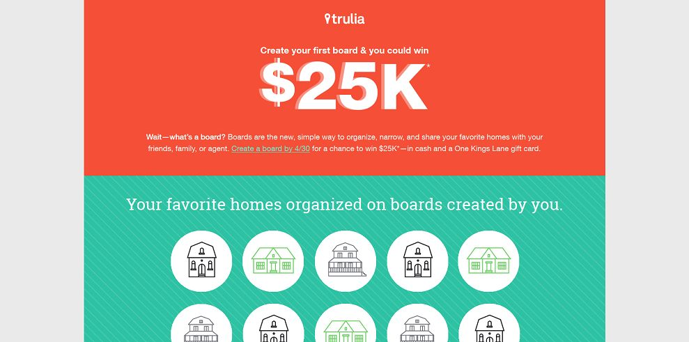 Trulia $25K Giveaway