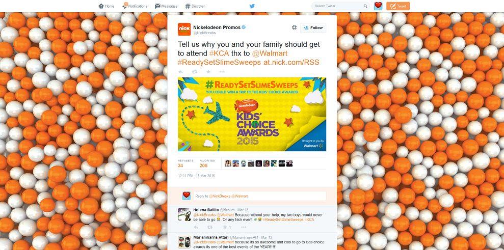 NickBreaks And Walmart's Today We Slime Sweepstakes