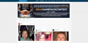 Battle 4 Atlantis Show Your Game Face Contest