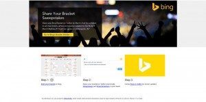Share Your Bing Bracket Twitter Sweepstakes