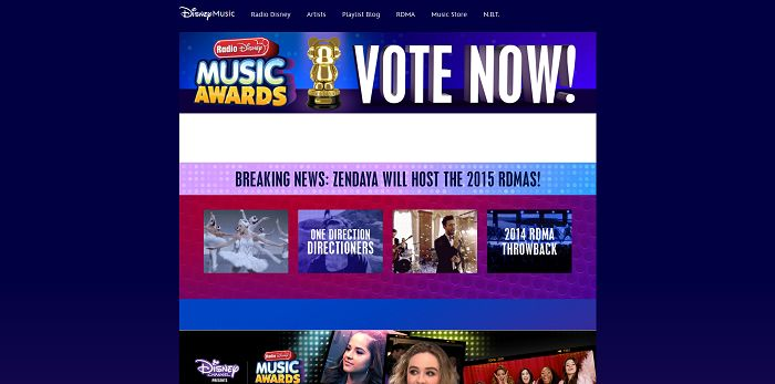 Radio Disney Music Awards Big VIP Sweepstakes