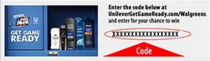 get game ready walgreens code