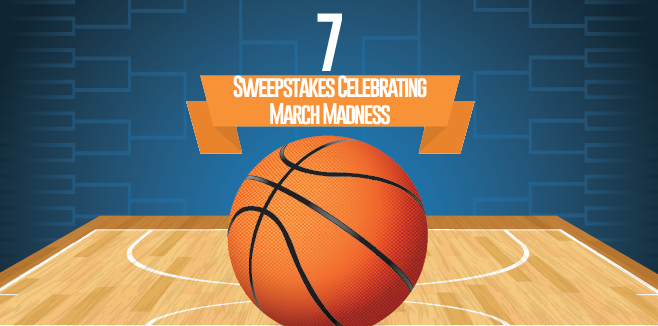 7 Sweepstakes Celebrating March Madness
