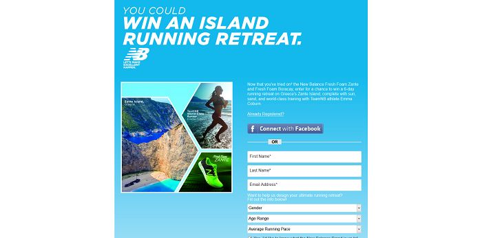New Balance Fresh Foam Zante Sweepstakes