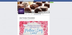 Purdys Chocolatier Mother's Day Contest