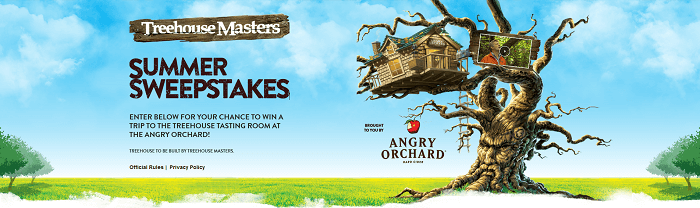 AnimalPlanet.com/SummerSweeps - Treehouse Masters Summer Sweepstakes