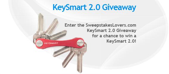 SweepstakesLovers.com KeySmart 2.0 Giveaway