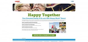 AARP The Magazine's Happy Together Travel Sweepstakes