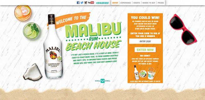 MalibuBestSummerEver.com - Malibu Beach House Summer Sweepstakes