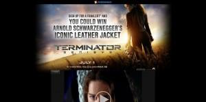 Fandango Terminator: Genisys Sweepstakes