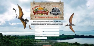 Margaritaville Escape To Isla Nublar Jurassic World Sweepstakes