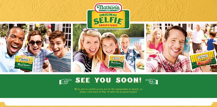 NathansSelfie.com - Nathan's Famous Original Selfie Sweepstakes