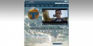 Greyhound's Next Stop: Tomorrowland Sweepstakes