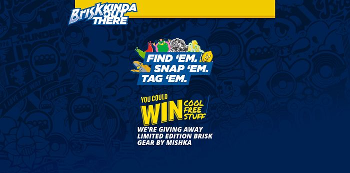 Brisk Kinda Out There Sweepstakes