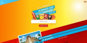 Lay's Summer Days Game (Summer.Lays.com)