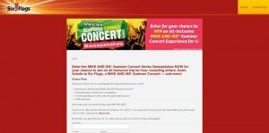 MIKE AND IKE Summer Concert Series Sweepstakes