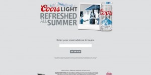 Coors Light Refresh Your Summer Sweepstakes
