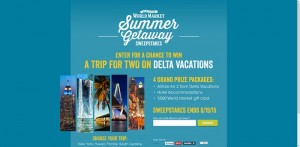 World Market's Summer Getaway Sweepstakes