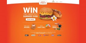 King's Hawaiian Sweetest Summer Ever Instant-Win Game