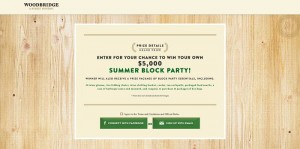 Woodbridge Summer Block Party Sweepstakes