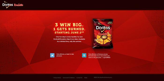 Doritos Roulette Promotion (Roulette.Doritos.com)