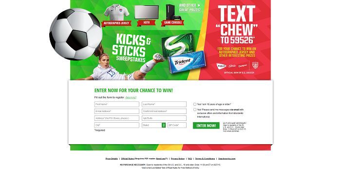 KicksAndSticksSweeps.com - Kicks And Sticks Sweepstakes