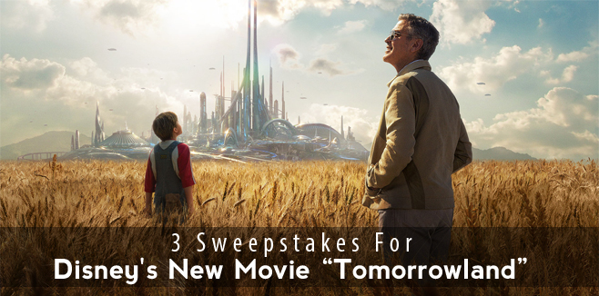 disney tomorrowland sweepstakes