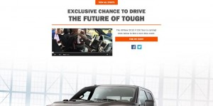 2015 F-150 Drive The Future Of Tough Sweepstakes